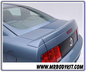 2005-2009 Mustang 3D Carbon Mach 3 Wing - 3PC (Paint Options)